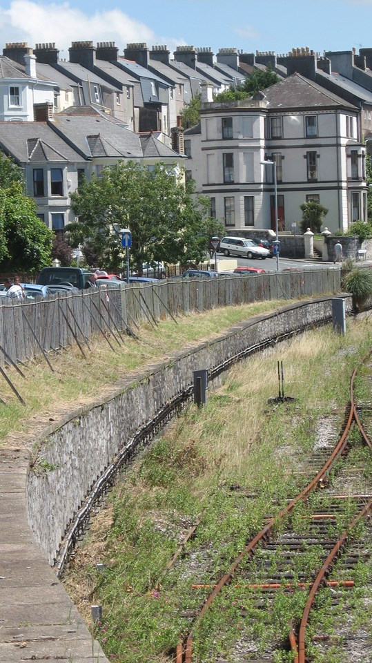 Plymouth Clean-Up - After: Railway embankments cleared of rubbish