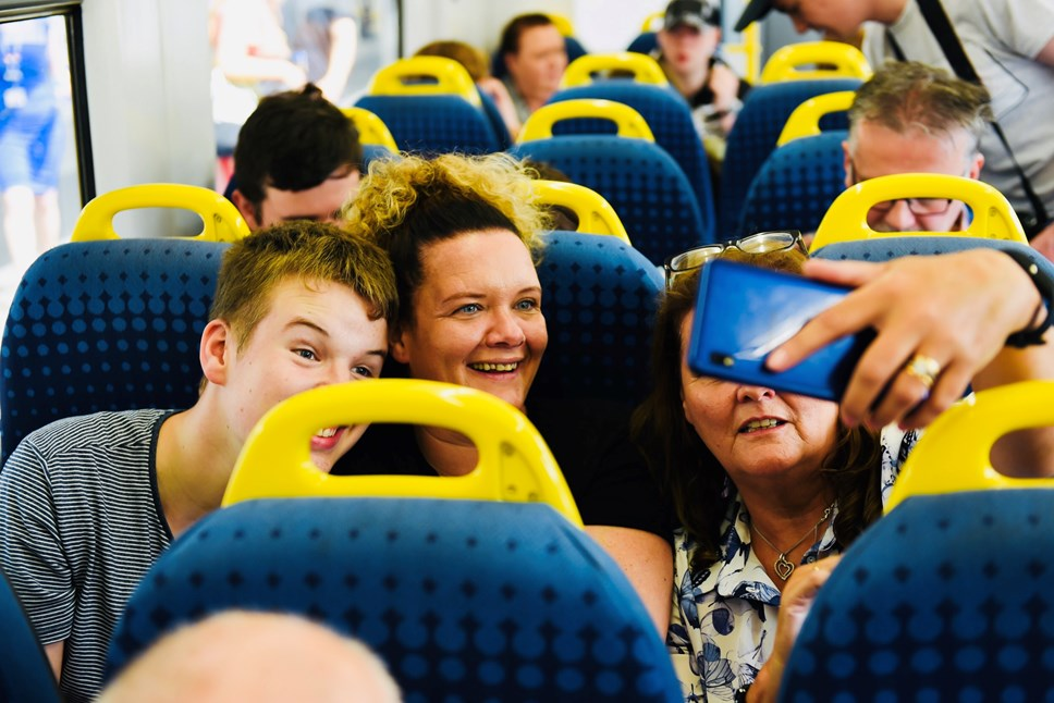 Northern helps launch UK's first autism friendly railway: Autism line launch 1