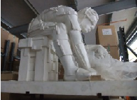 Eduardo Paolozzi - Master of the Universe [Newton] - Fibreglass resin tinted white