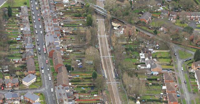 Bloxwich station aerial-2