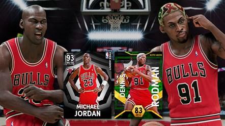 NBA 2K22 Season 2 MJ and Rodman