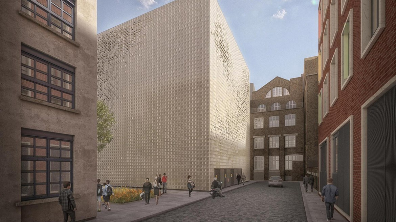 Green light for HS2's Euston 'sugar cube': HS2 London Underground substation and vent shaft design