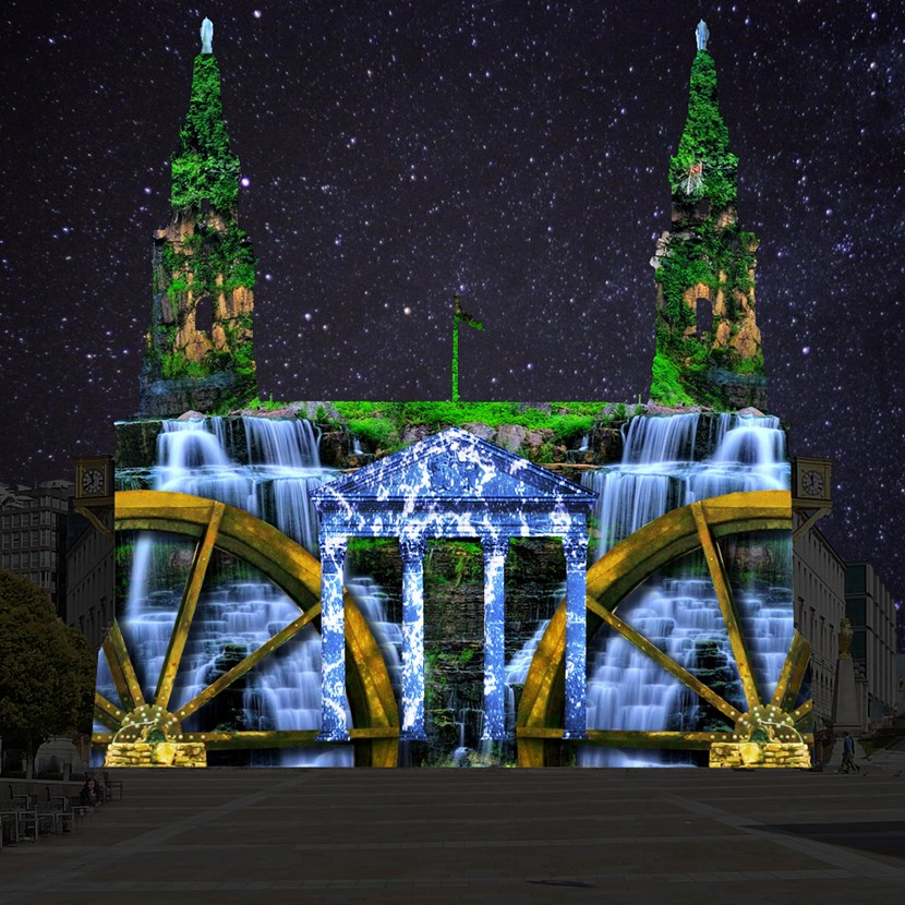 Spectacular display set to throw new light on the story of Leeds: waterpower.jpg