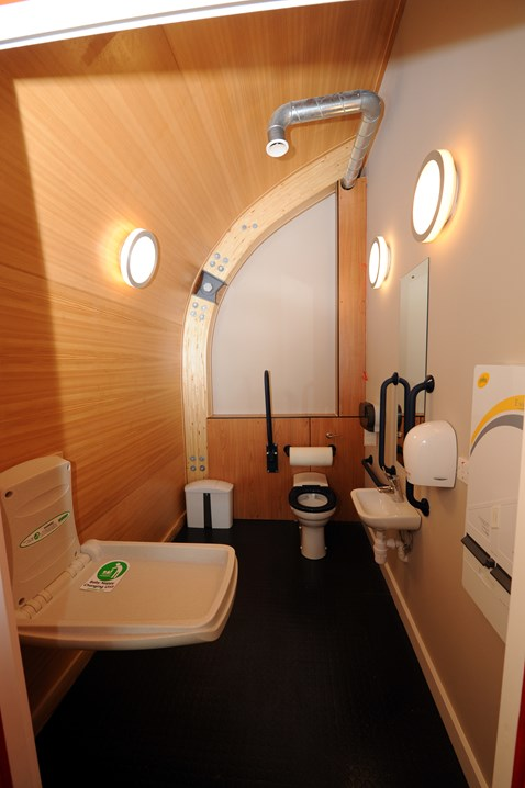 Accessible toilet facility