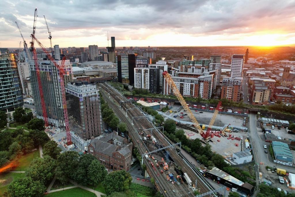 Aerial shot of Dantzic Street