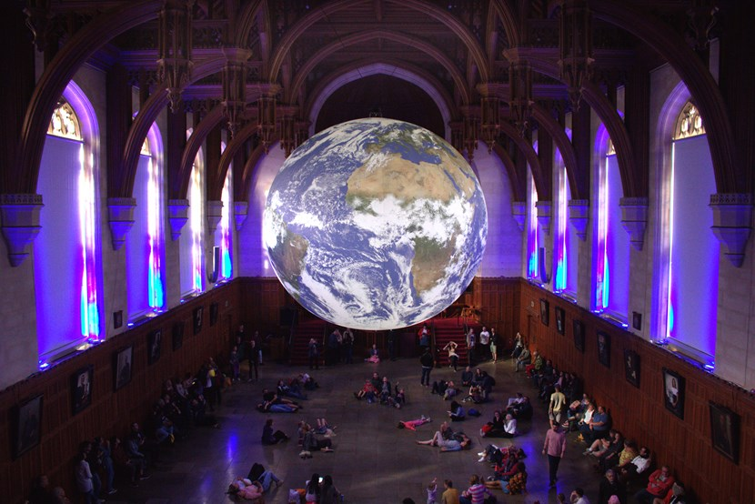 The world's coming to Leeds for breathtaking arts spectacular: Gaia at University of Bristol, UK, 2019