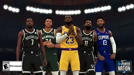 NBA2K20 Group Photo