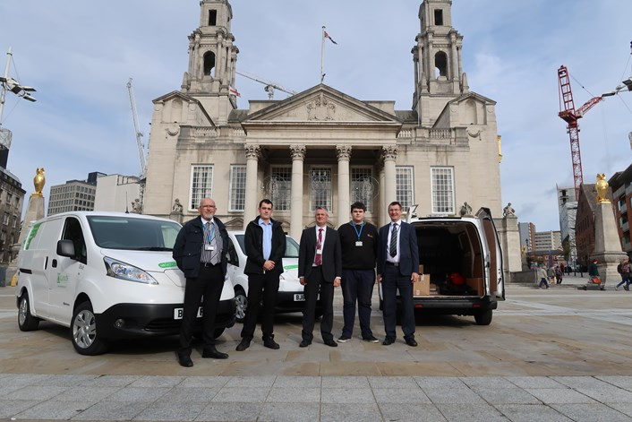 Council to lead the way in switch to zero-emission electric vehicles : groupshot.jpeg