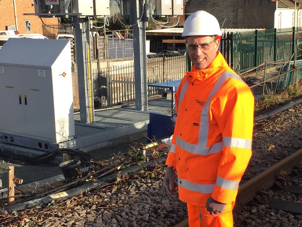Southend railwayman trades stockings by the fire for overhead wire to upgrade your railway this Christmas: Network Rail project manager Gary Desmond
