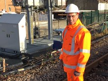 Network Rail project manager Gary Desmond