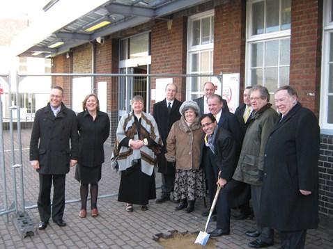 Gillingham Station - Start of Work