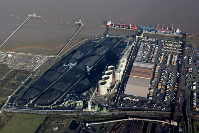 The port of Immingham will benefit from the £100m investment that will take place over Christmas and the New Year (photo credit - David Lee)