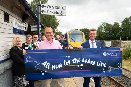 Northern launches all-new fleet for Lakes Line:  DSC8042
