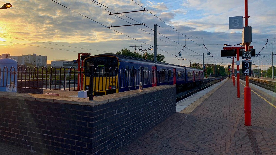 Wigan platform extension to bring better rail journeys for passengers: Wigan North Western station platforms