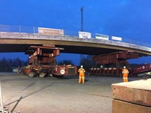 Awsworth bridge installation