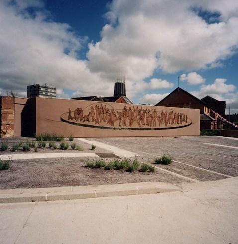 Original Bullring mural 1999