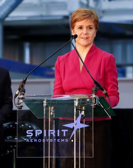 spirit aerosystems speech FM