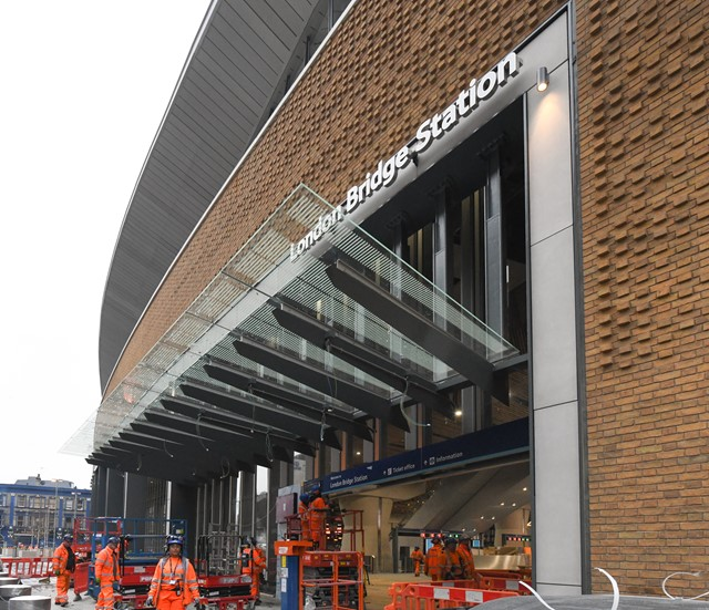 London Bridge: London Bridge's new concourse, pictured just before it opened fully for the first time