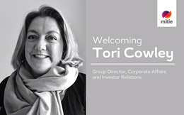 Tori Cowley Group Director of Corporate Affairs & Investor Relations