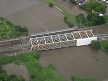 Marshgate bridge: 26 June 2007 East Coast Mainline north of Doncaster