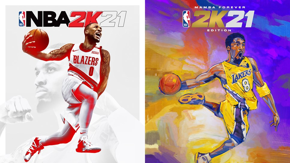 NBA 2K21 Current-Gen Covers Side-by-Side