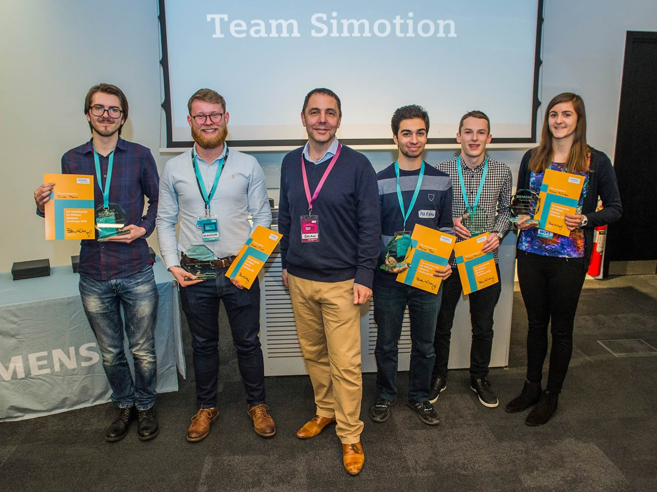 Top engineering students come together for innovative Siemens challenge: Top engineering students come together for innovative Siemens challenge