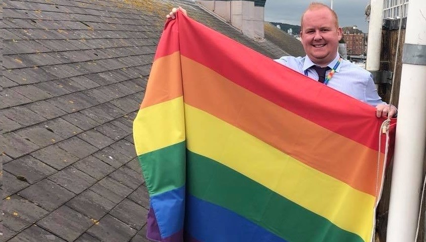 Railway worker recognised in New Year's Honours list for improving inclusivity: shane on roof - Copy