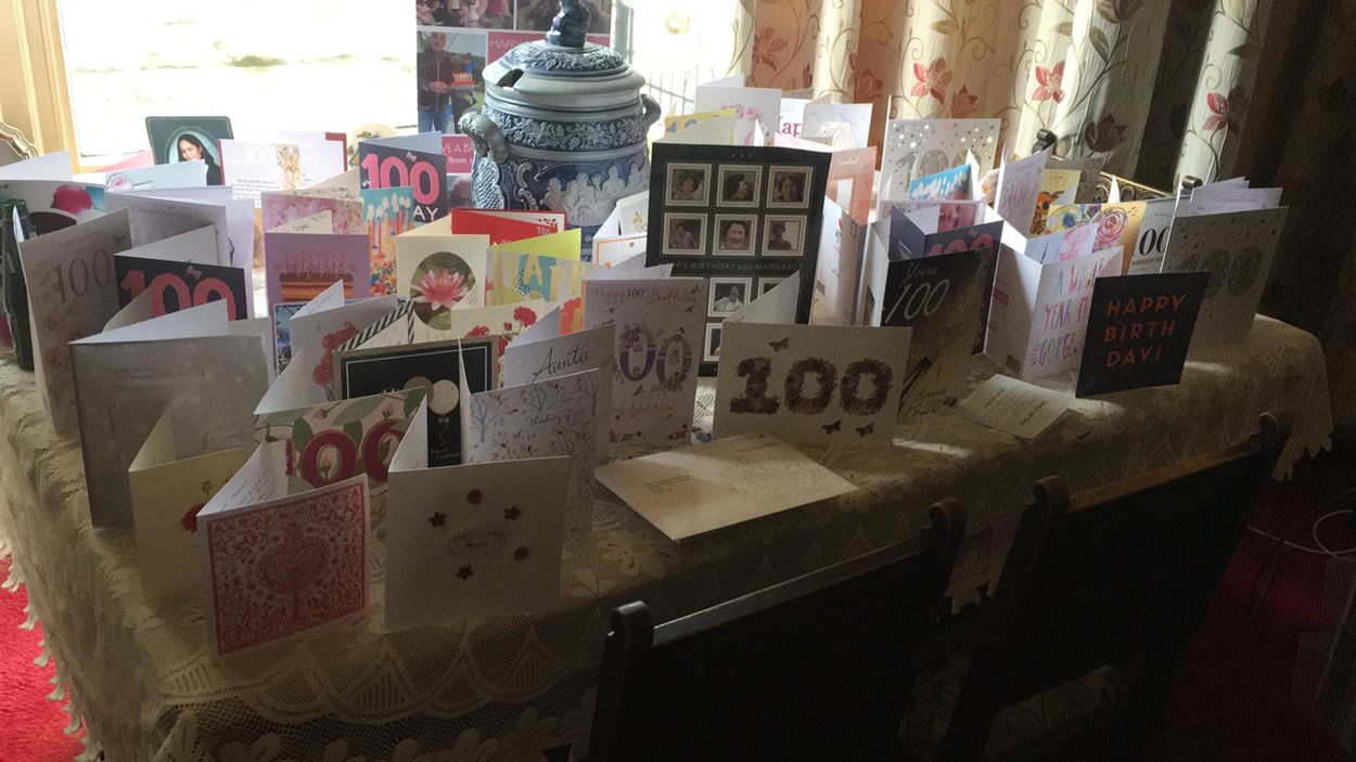 Leeds homeshare-june2020: Leeds Homeshare participant Margaret Marshall celebrated her 100th birthday this week.