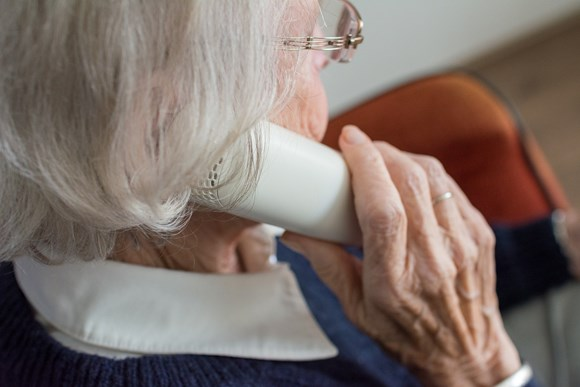 Active Withernsea wants to hear from residents at the Tell Us More session: Elderly woman on the phone