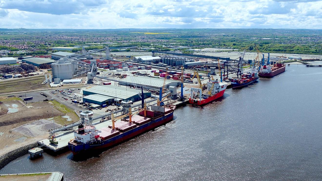 Siemens helps Port of Tyne create blueprint for decarbonisation of UK ports: siemens-port-of-tyne