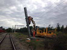 Chase line electrification -  Walsall work