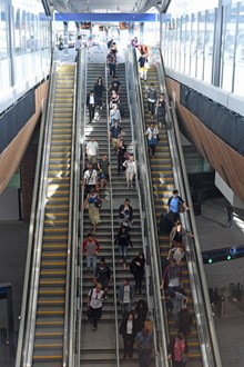 Escalators at London Bridge: Escalators at London Bridge