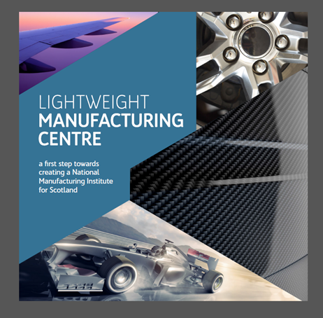 Innovation in manufacturing: Lightweight Manufacturing Centre brochure - front cover