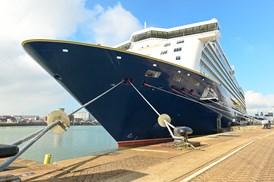 Spirit of Adventure - external 2: Spirit of Adventure at Portsmouth International Port