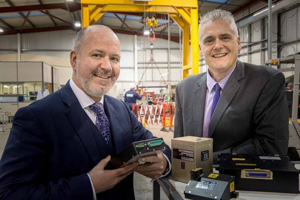 Albacom in expansion mode with six figure investment: Albacom CEO Jim Davidson and Business Development Manager Ken Clarke