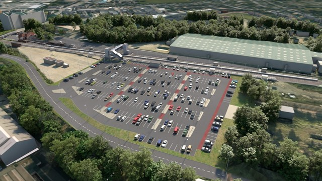 Market Harborough drop in event ahead of construction of new car park: Market Harborough drop in event ahead of construction of new car park 3