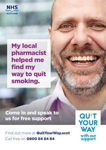 NHS Quit Your Way Poster