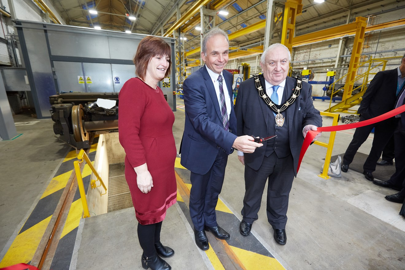 Siemens £8m bogie facility in Lincoln now open: Bogie-facility-Lincoln