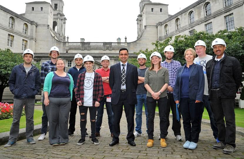 New intake of 'Re-Making Leeds' apprentice trainees all set to make their mark: re-makingleeds.jpg