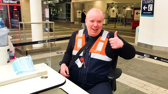 Autistic station worker inspires others like him to go for their dream job: Dan Noon - April 2021