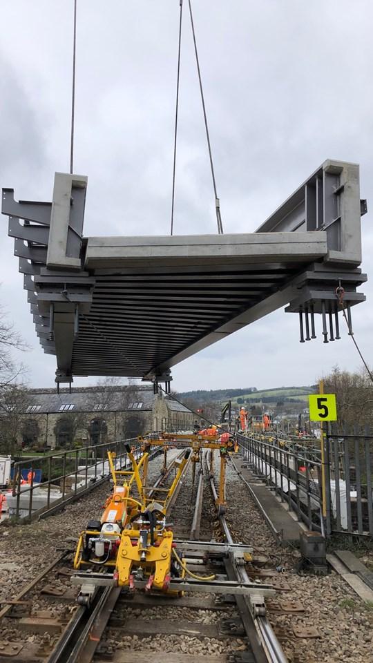 Bridge decks - Lostwithiel