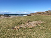 NCHF 2021 - Archaeology Scotland - Location of Viking boat burial