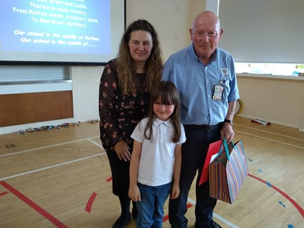 School's out for retiring Moray janitor: School's out for retiring Moray janitor