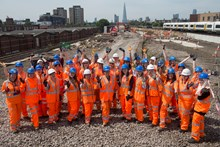 Network Rail, Thameslink Programme and contractors celebrate Women in Engineering Day
