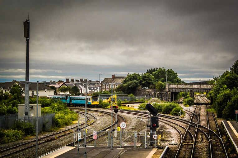 Extra Sunday services between Treherbert and Barry Island for the summer: BarryRailStation2018.06.18-1-6