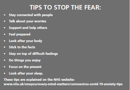 Coronavirus Fear Tips