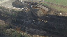 Aerial photographs of the damage at Farnley Haugh-2