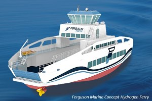 Ferguson Marine to develop world-first renewables-powered hydrogen ferry: Ferguson Marine 2