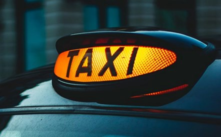 Guidance on installation of screens for taxi drivers: Taxi sign