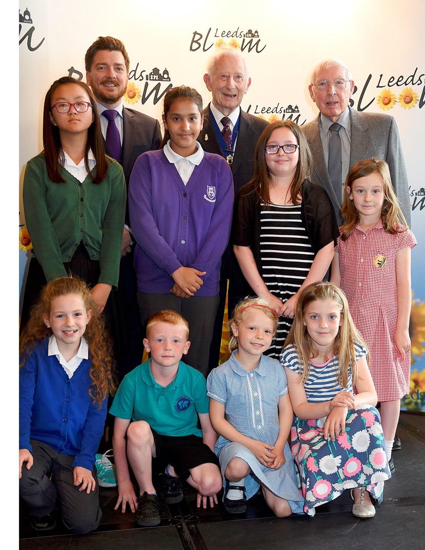 Leeds in Bloom awards celebrates young green fingered talent in city: leedsinbloom16.jpg